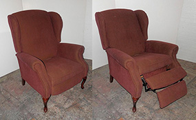 Vintage Family Room Chair