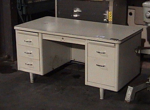 All about props office furniture for rent as props - Metal office desk ...