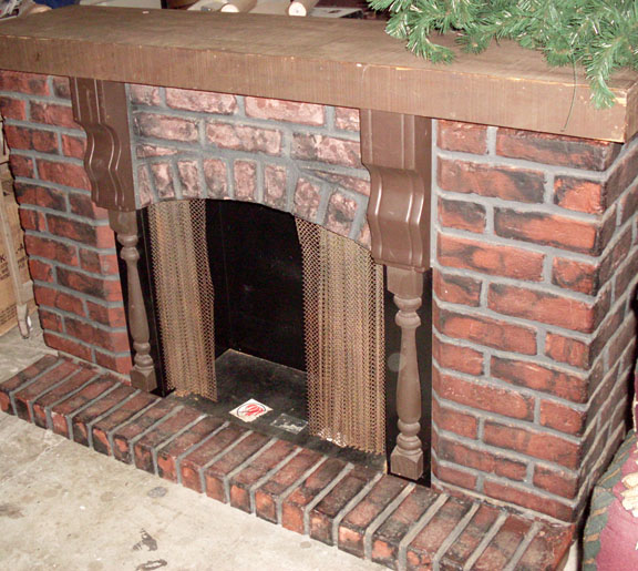 All About Props - Fireplace and accessories to rent as props