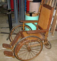 Vintage Cane Wheelchair