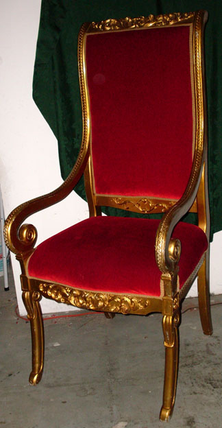Set Of Ecclesiastical Style Thrones / Chairs   Set Of 5
