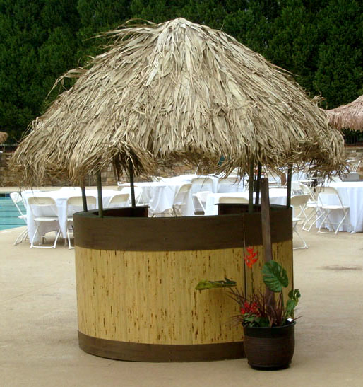 Grass Hut: Tropical And Beach Props For Rent