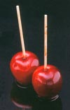 Fake candy apples)