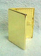 Gold cigarette case